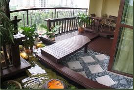 Natural patio